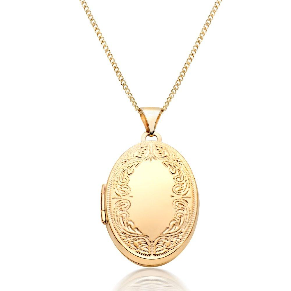 9ct Gold Locket Pendant