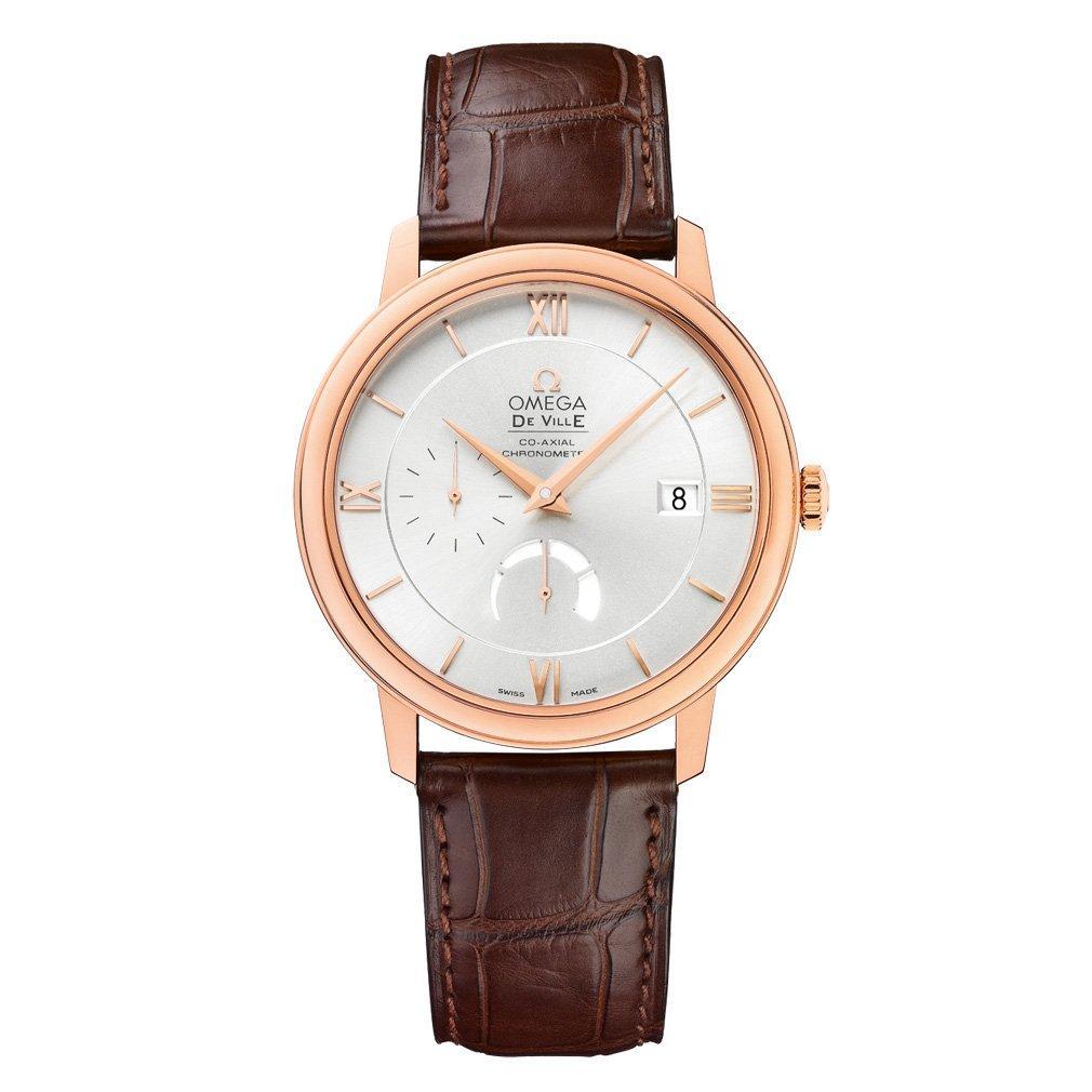 OMEGA De Ville Prestige 18ct Sedna Gold Automatic Chronometer Men's Watch