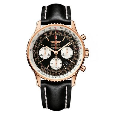 Breitling Navitimer 01 18ct Rose Gold Automatic Men's Watch