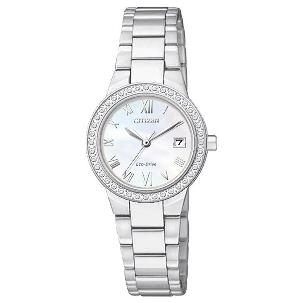 Citizen Silhouette Crystal Eco-Drive Ladies Watch