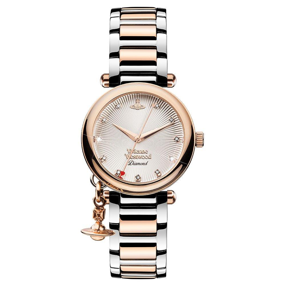Vivienne Westwood Orb Diamond Two-Colour Ladies Watch