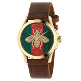 Gucci Honey Bee Gold PVD Watch