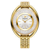 Swarovski Crystalline Gold Tone Crystal Ladies Watch