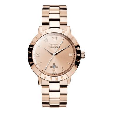 Vivienne Westwood Bloomsbury Rose Gold Tone Ladies Watch
