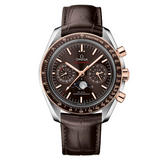 OMEGA Speedmaster Moonphase Steel and 18ct Sedna Gold Automatic Chronograph Men's Watch