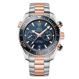 OMEGA Seamaster Planet Ocean 600m Steel and 18ct Sedna Gold Automatic Chronograph Men's Watch