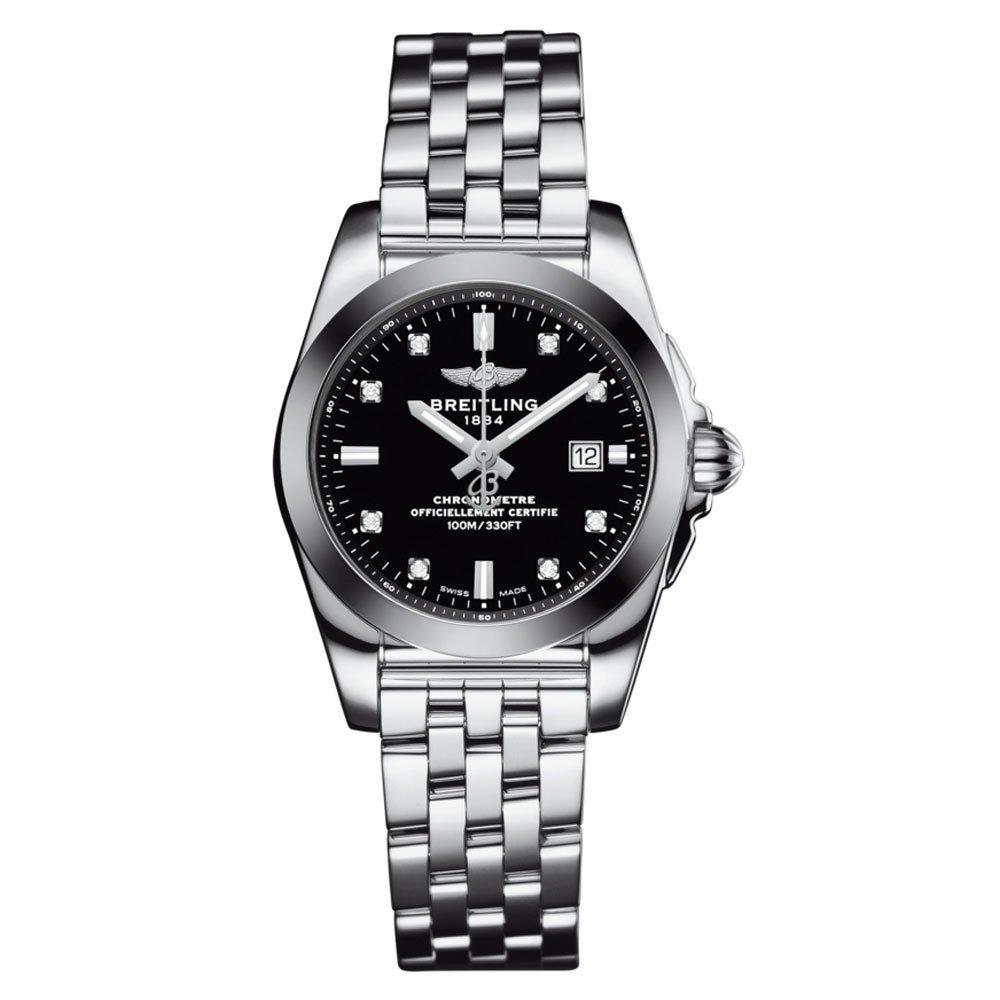 Breitling Galactic 29 Sleekt Diamond Watch