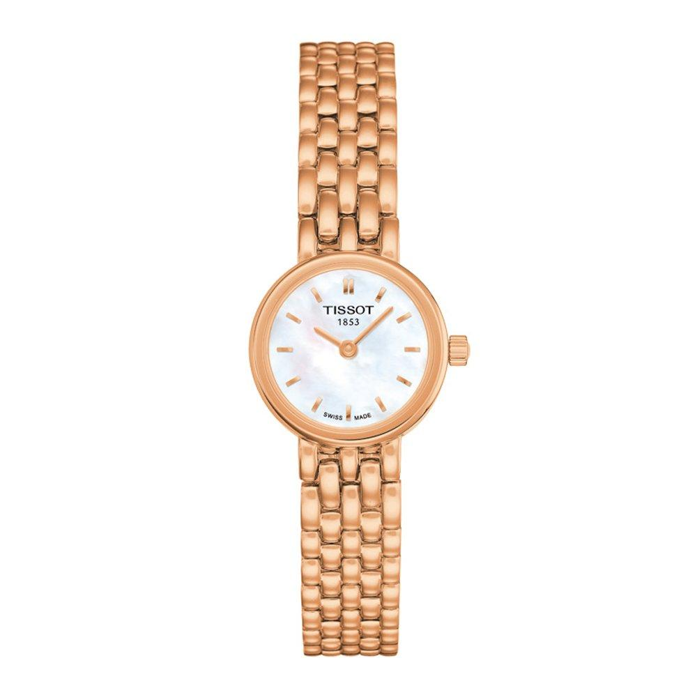 Tissot Lovely Rose Gold Tone Ladies Watch