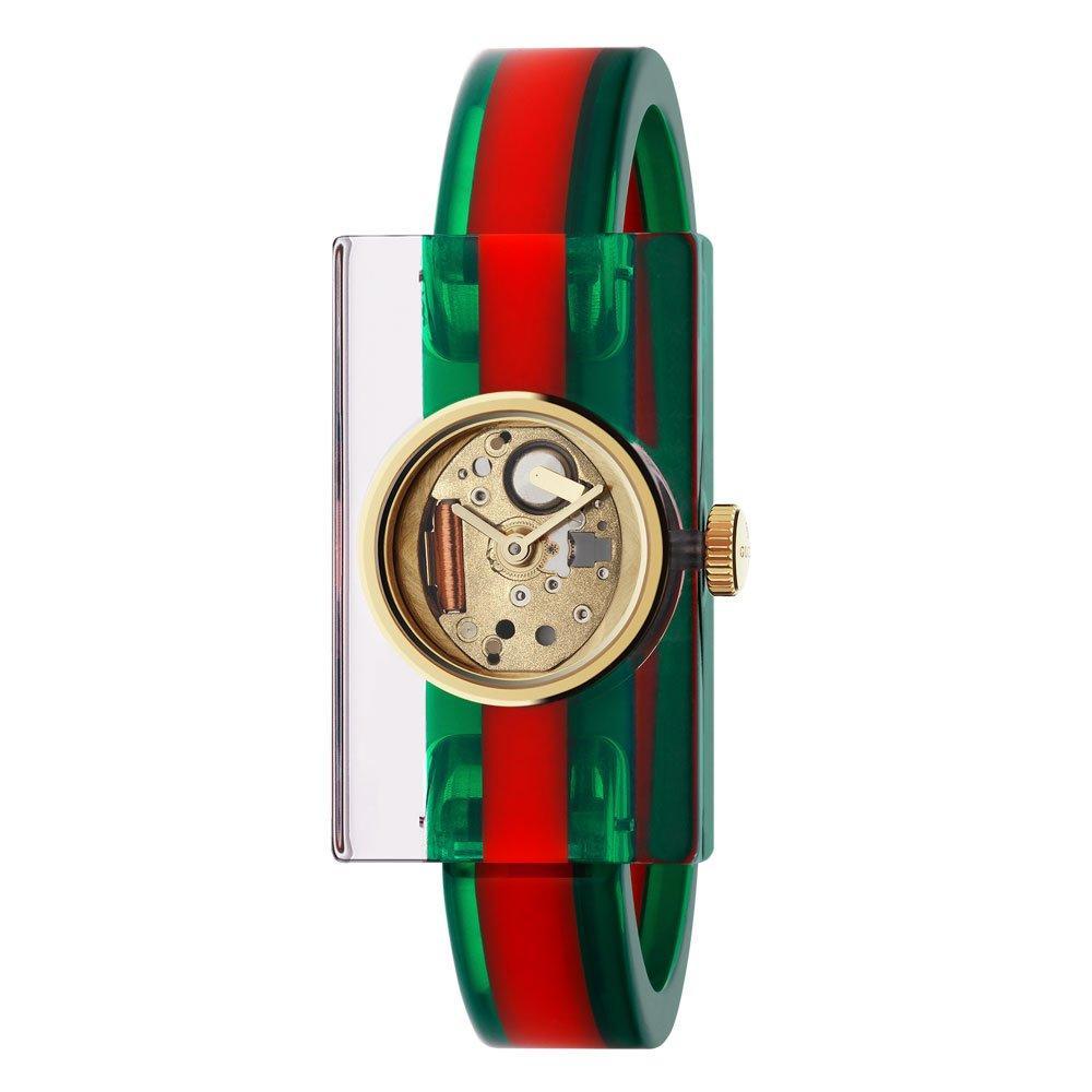 Gucci Plexiglass Fashion Ladies Watch