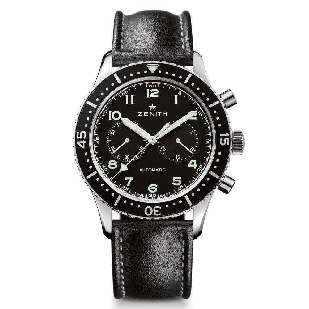 Zenith Pilot Cronometro Tipo CP-2 Automatic Chronograph Men's Watch