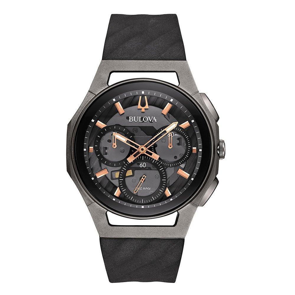 Bulova Curv Titanium Chronograph Men's Watch