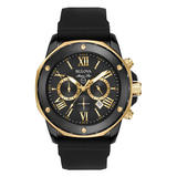 Bulova Marine Star Gold Tone and Stainless Steel Chronograph Men's Watch