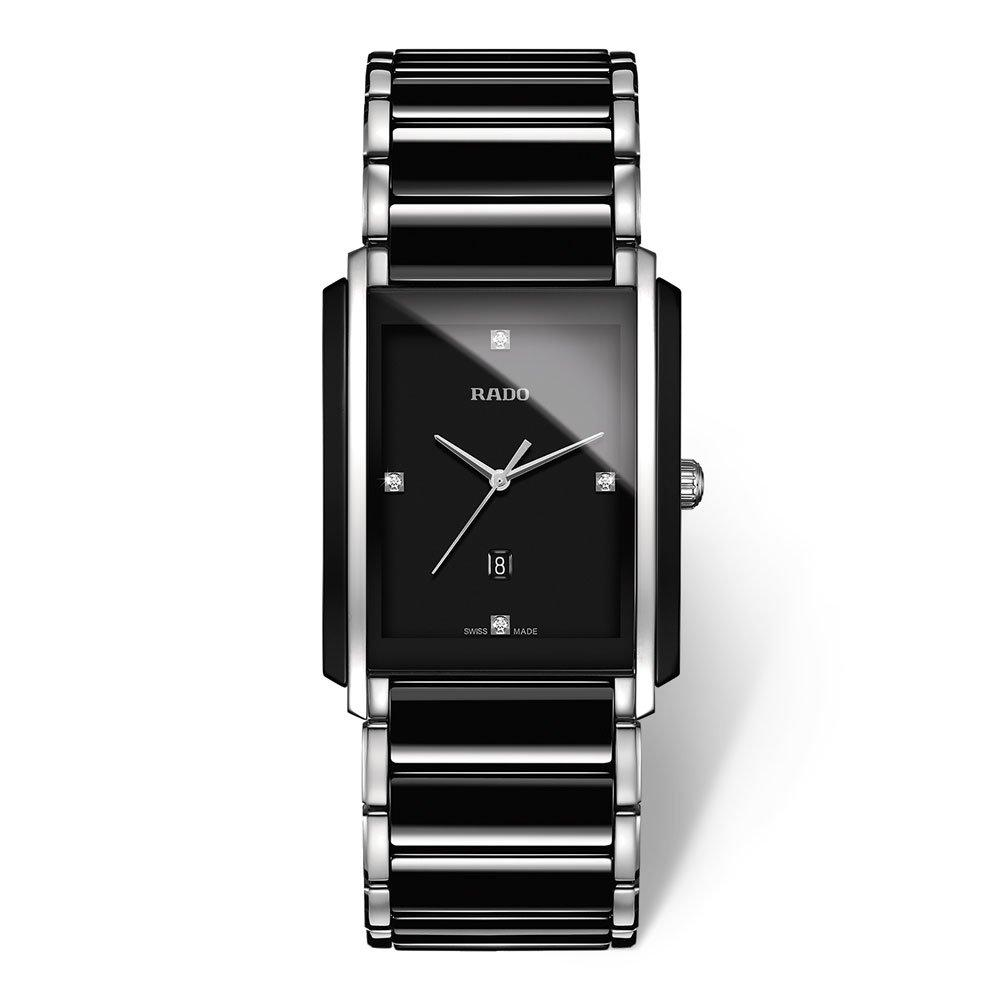 Rado Integral High Tech Ceramic and Stainless Steel Diamond Men's Watch