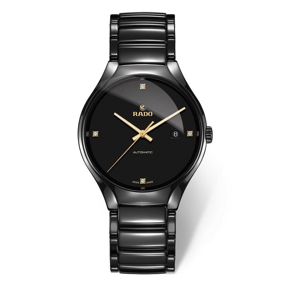 Rado True High-Tech Ceramic Diamond Automatic Men's Watch
