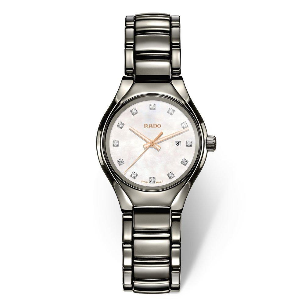 Rado True Diamonds Plasma High-Tech Ceramic Ladies Watch