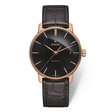 Rado Coupole Classic Gold Tone PVD Automatic Men's Watch