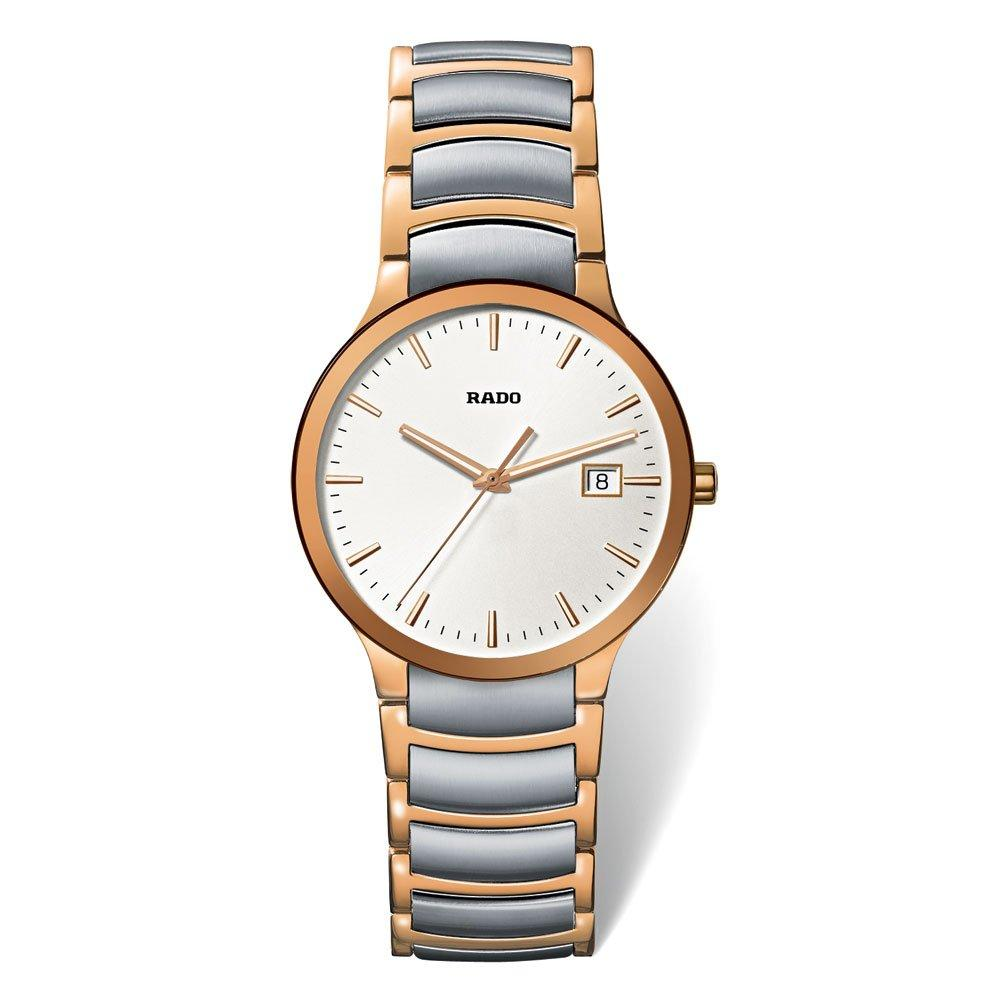 Rado Centrix Rose Gold Tone PVD and Stainless Steel Men's Watch