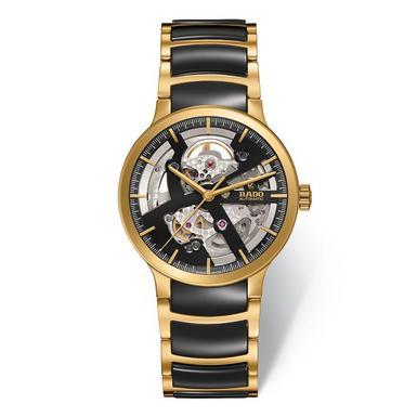 Rado Centrix Gold Tone PVD and High-Tech Ceramic Automatic Men's Watch