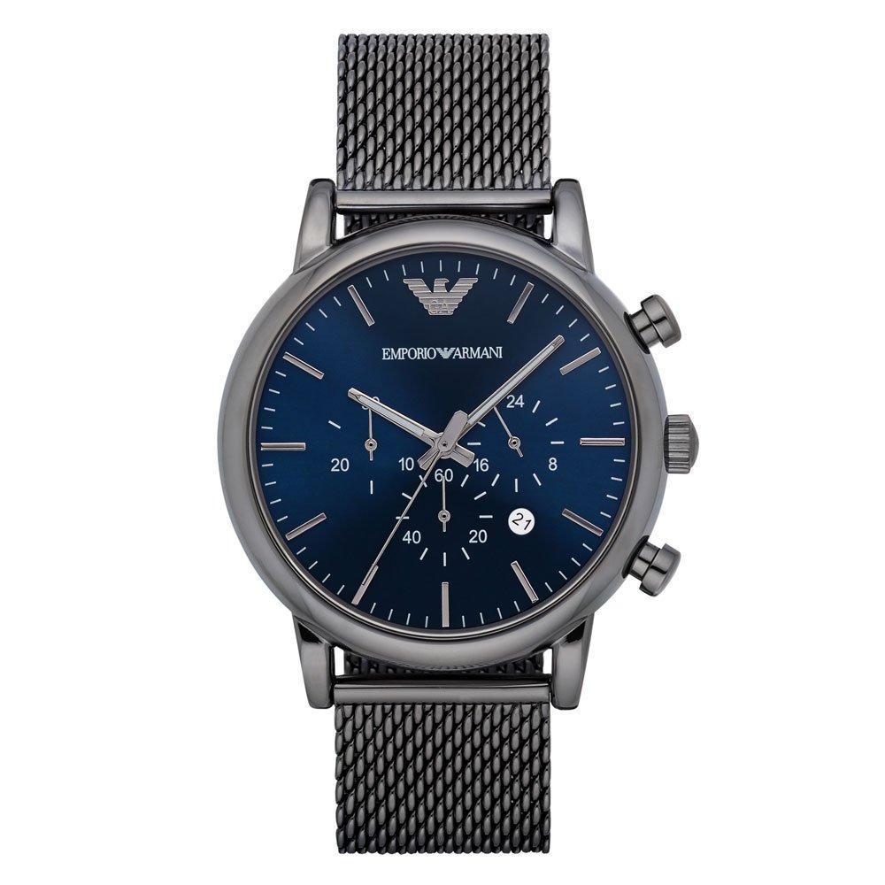 Emporio Armani Gunmetal Ion Plated Men's Watch