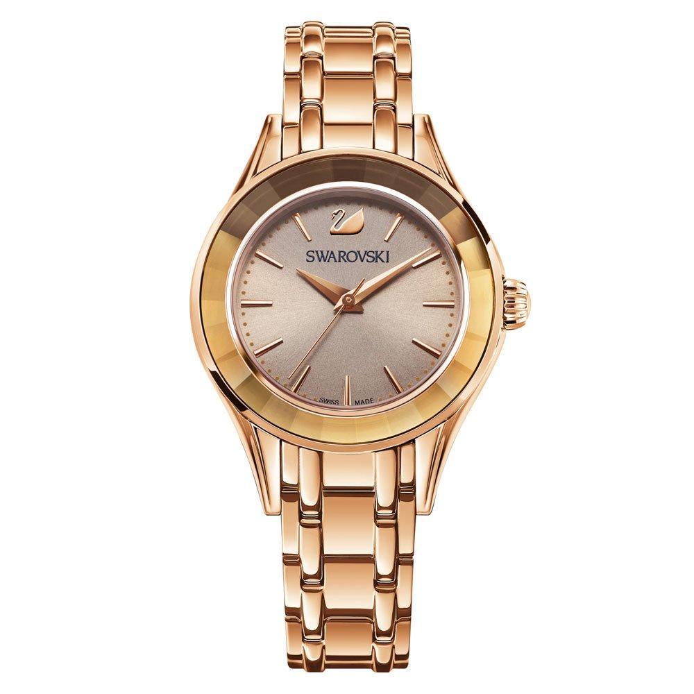 Swarovski Alegria Rose Gold Tone Ladies Watch