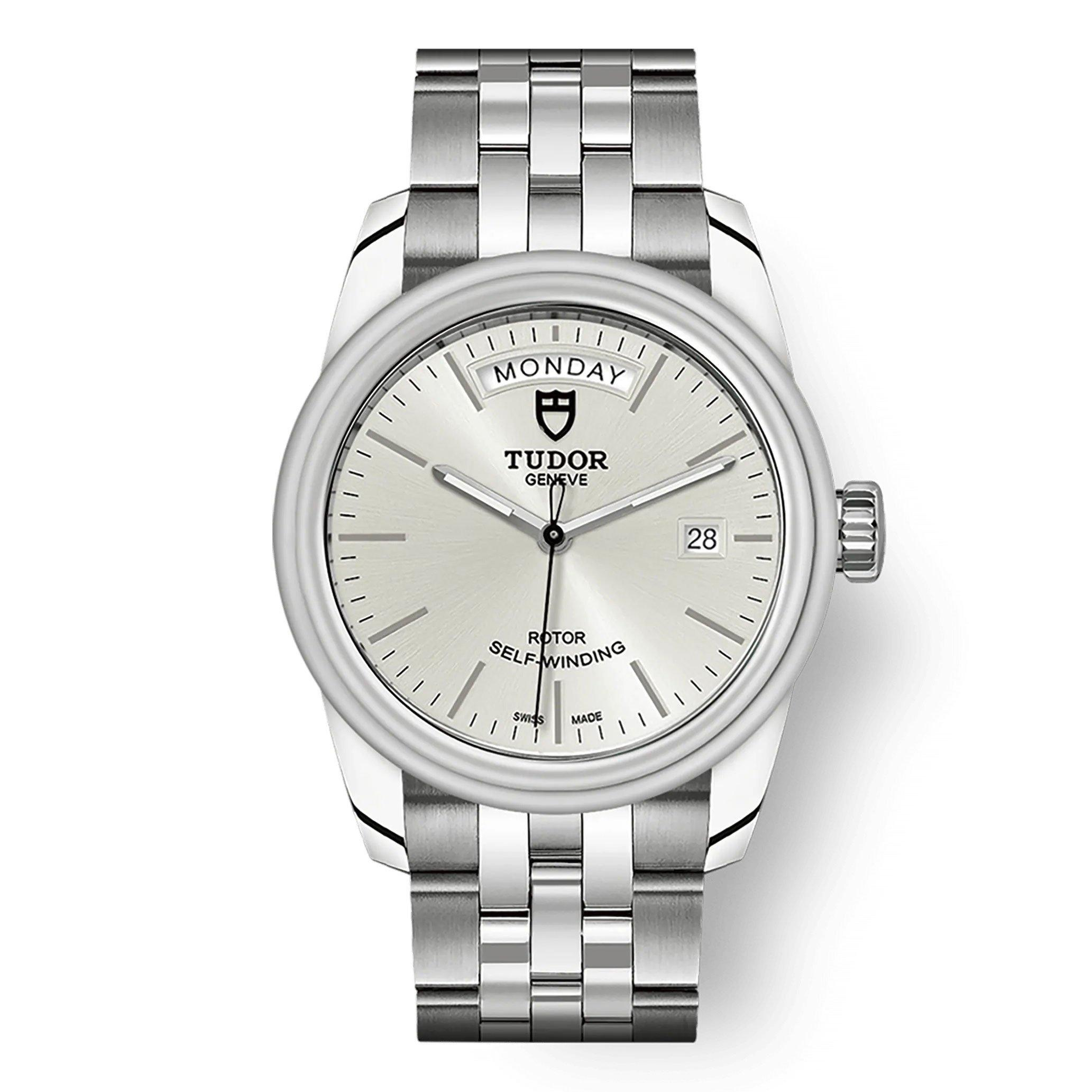 Tudor Glamour Date & Day Men's Watch