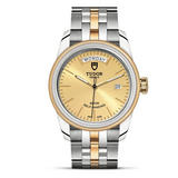 Tudor Glamour Date & Day Steel and 18ct Gold Automatic Men's Watch