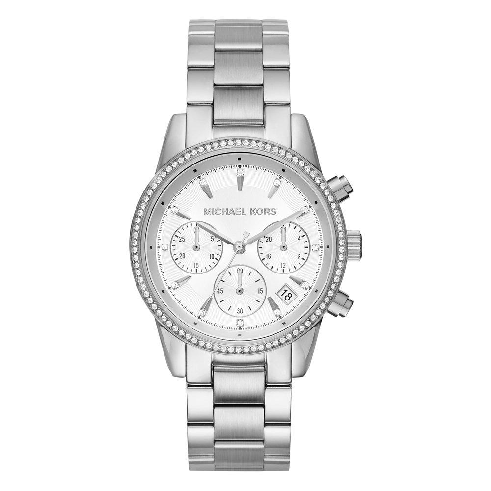 Michael Kors Ritz Crystal Chronograph Ladies Watch