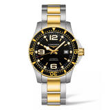 Longines HydroConquest Gold Plated and Stainless Steel Automatic Men's Watch
