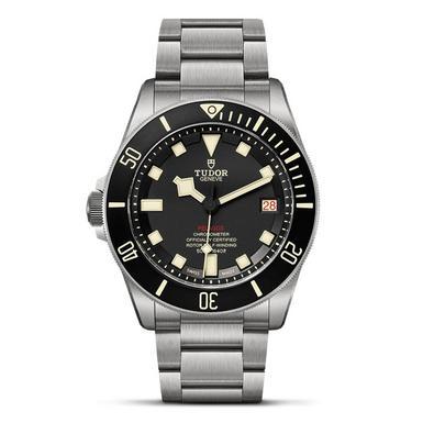 Tudor Pelagos LHD Titanium and Steel Left-Handed Diving Mechanical Men's Watch