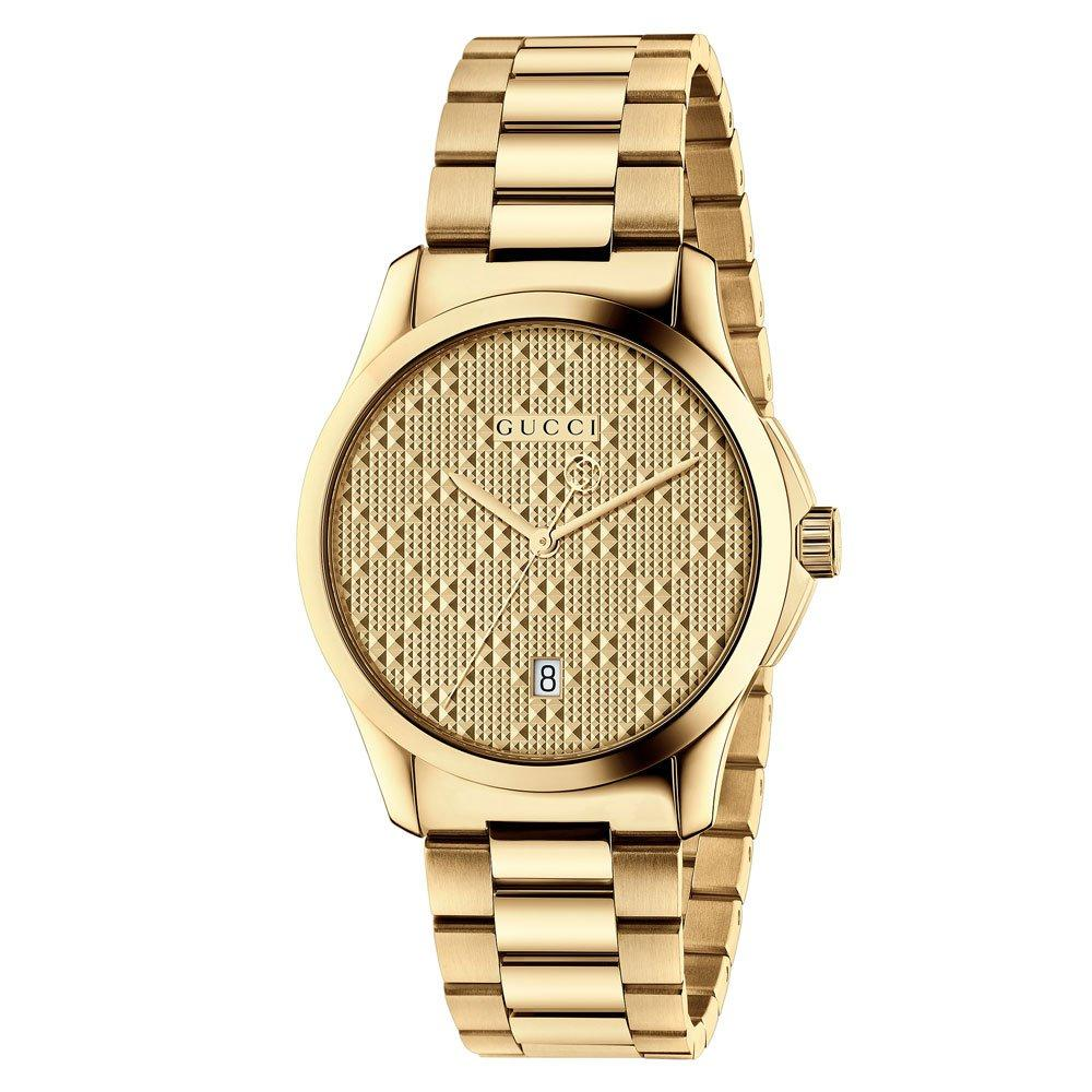 Gucci G-Timeless Gold Plated PVD Watch
