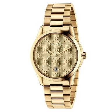 Gucci G-Timeless Gold PVD Men's Watch