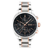 BOSS Grand Prix Rose Gold Tone Chronograph Men's Watch