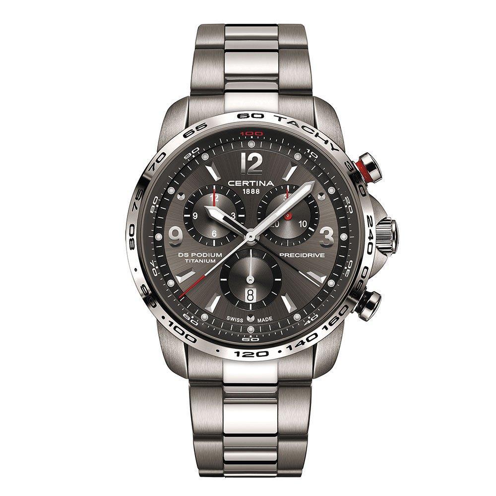 Certina DS Podium Precidrive Titanium Chronograph Men's Watch