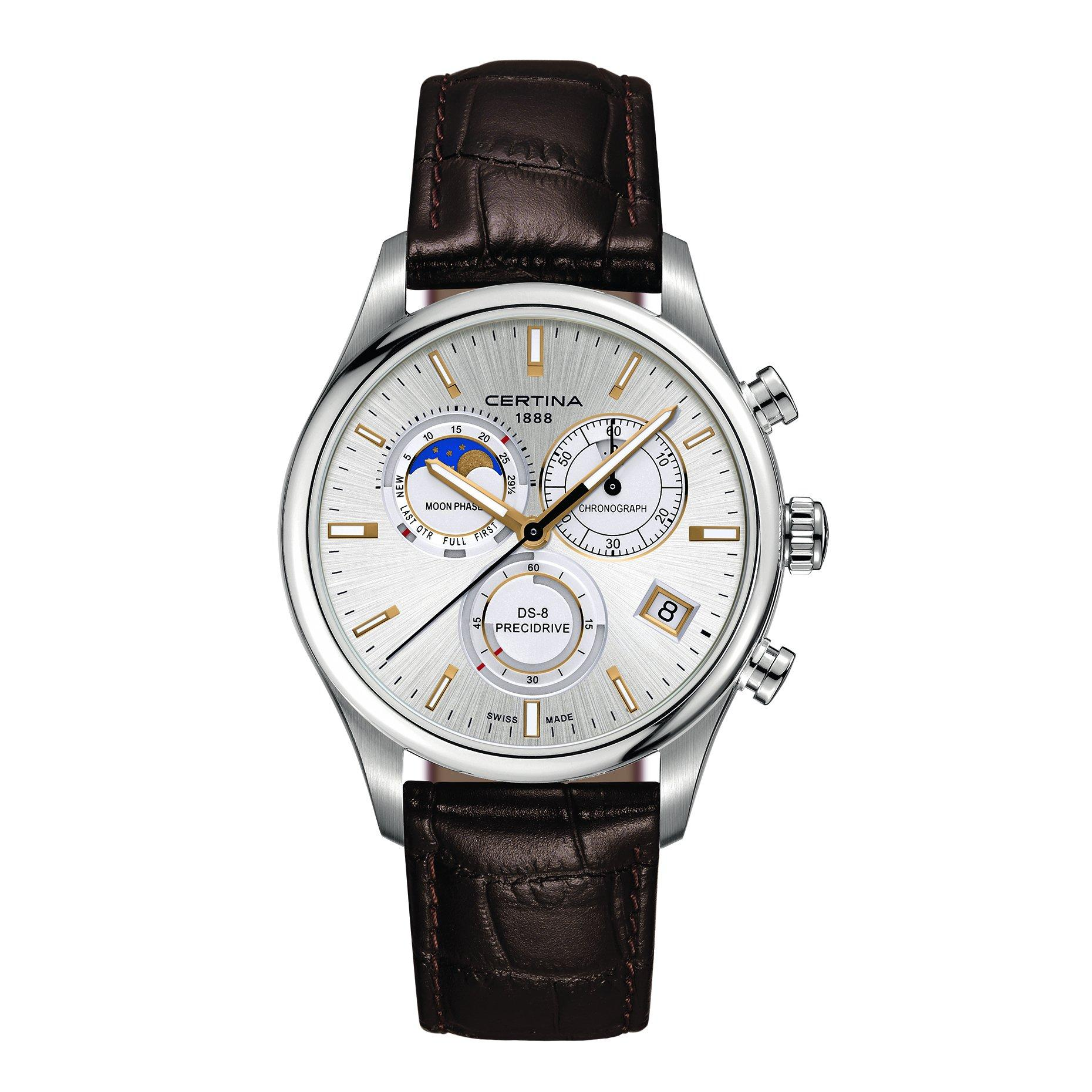 Certina DS-8 Precidrive Moonphase Chronograph Men's Watch