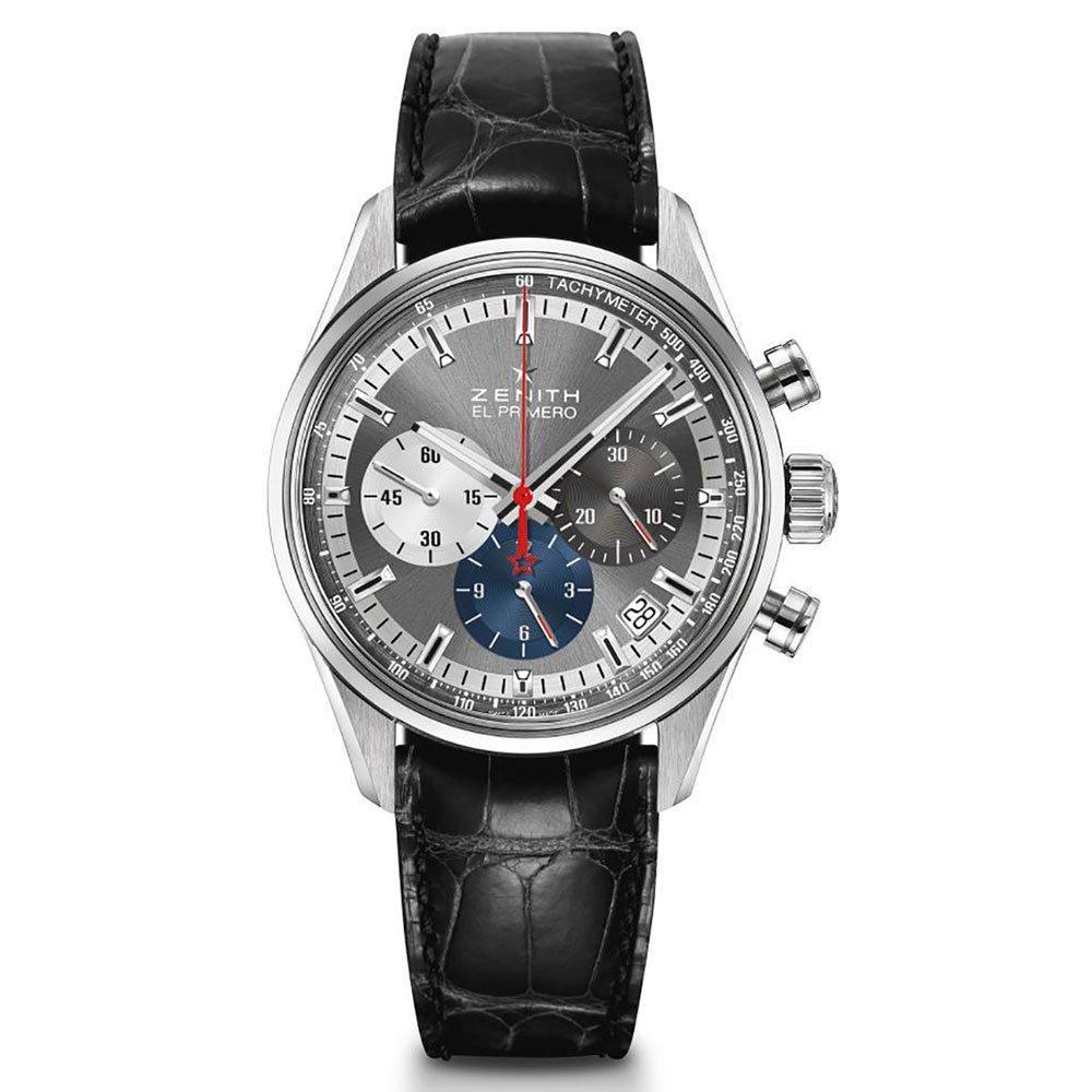 Zenith El Primero 36,000 VPH Automatic Chronograph Men's Watch