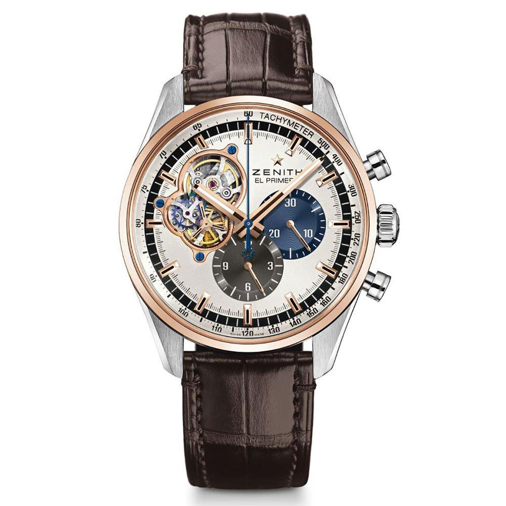 Zenith El Primero 18ct Rose Gold Chronograph Men's Watch