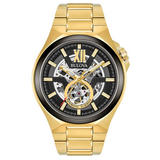 Bulova Automatic Gold PVD Plated Men's Watch