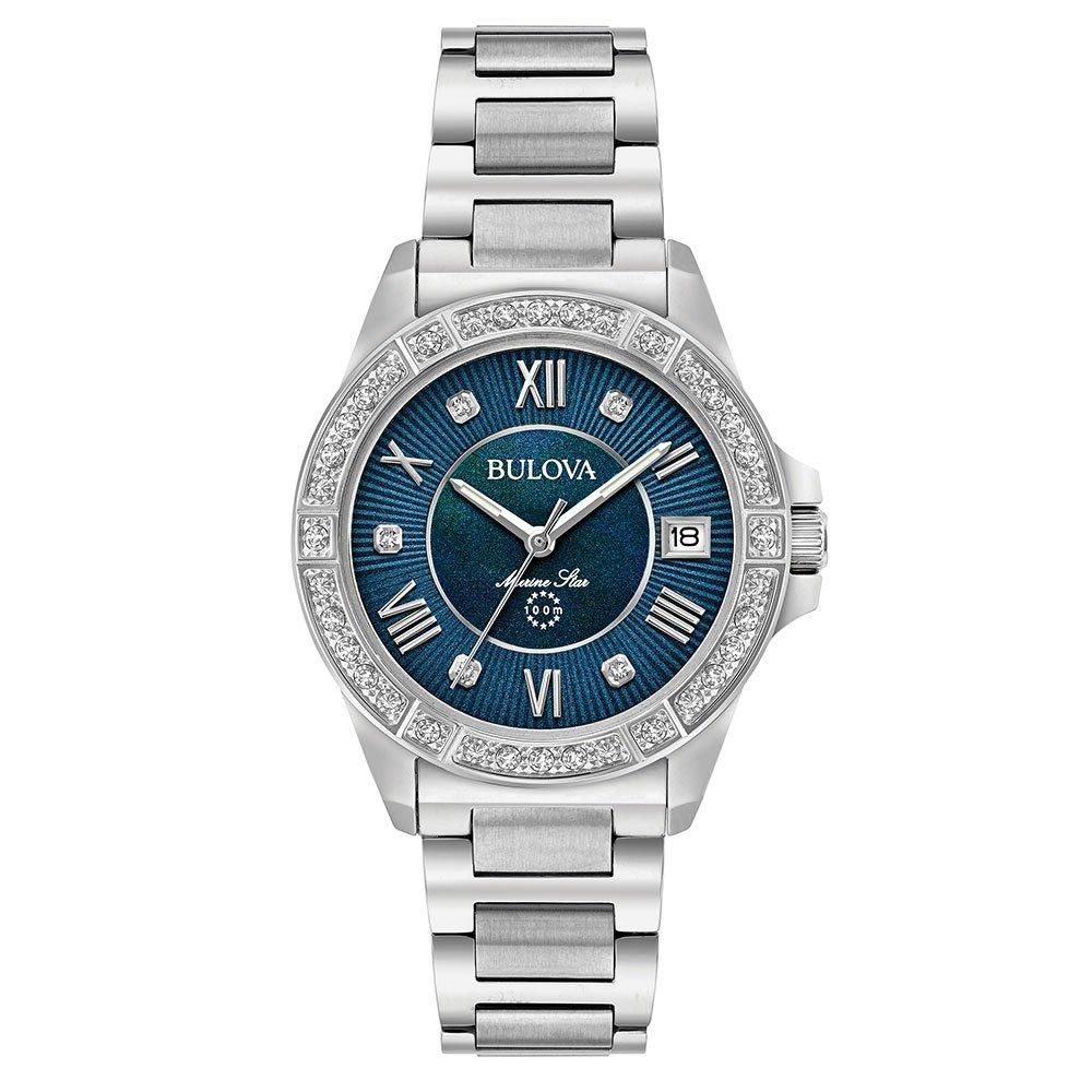 Bulova Marine Star Diamond Ladies Watch
