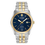 Citizen Eco-Drive Gold Tone and Stainless Steel Men's Watch
