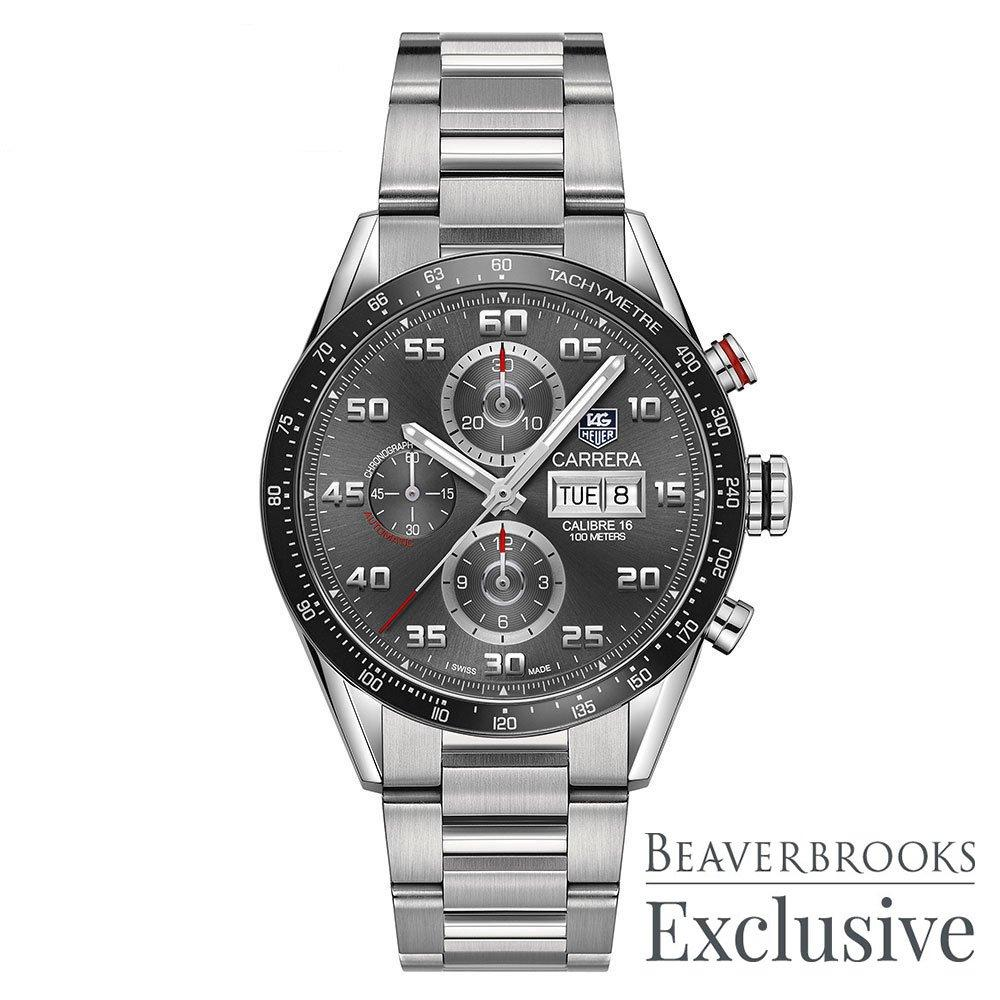 TAG Heuer Carrera UK Exclusive Automatic Chronograph Men's Watch