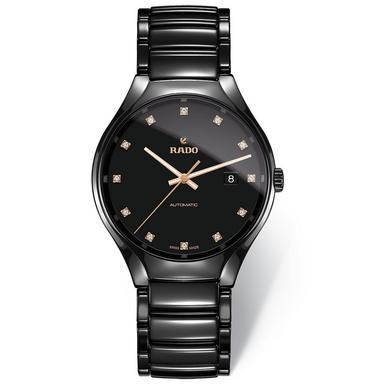 Rado True High-Tech Ceramic Diamond Automatic Watch