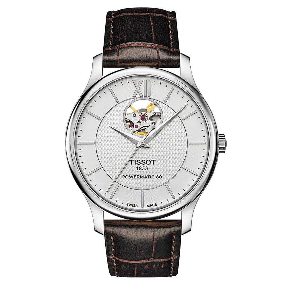 Tissot Tradition Powermatic 80 Open Heart Automatic Men's Watch