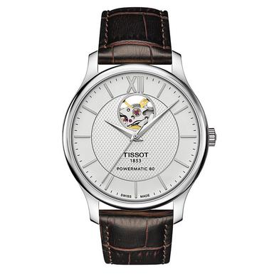 Tissot Tradition Powermatic 80 Open Heart Automatic Men's Watch