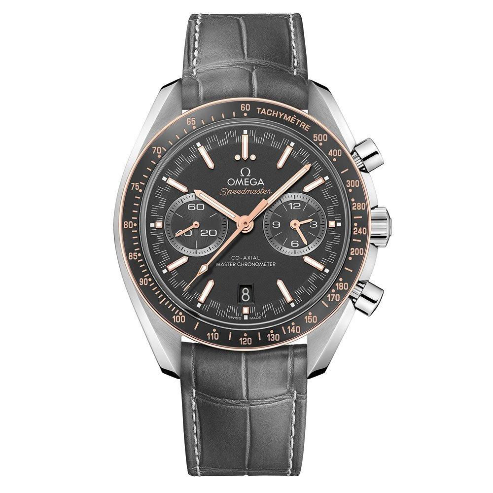 OMEGA Speedmaster Racing Steel and 18ct Sedna Gold Automatic Chronograph Men's Watch