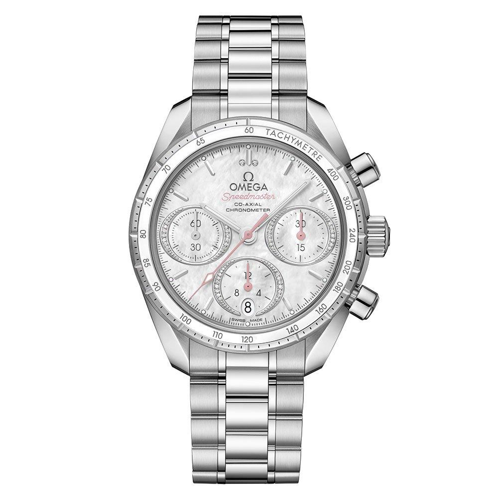 OMEGA Speedmaster 38 Co-Axial Automatic Chronograph Diamond Watch