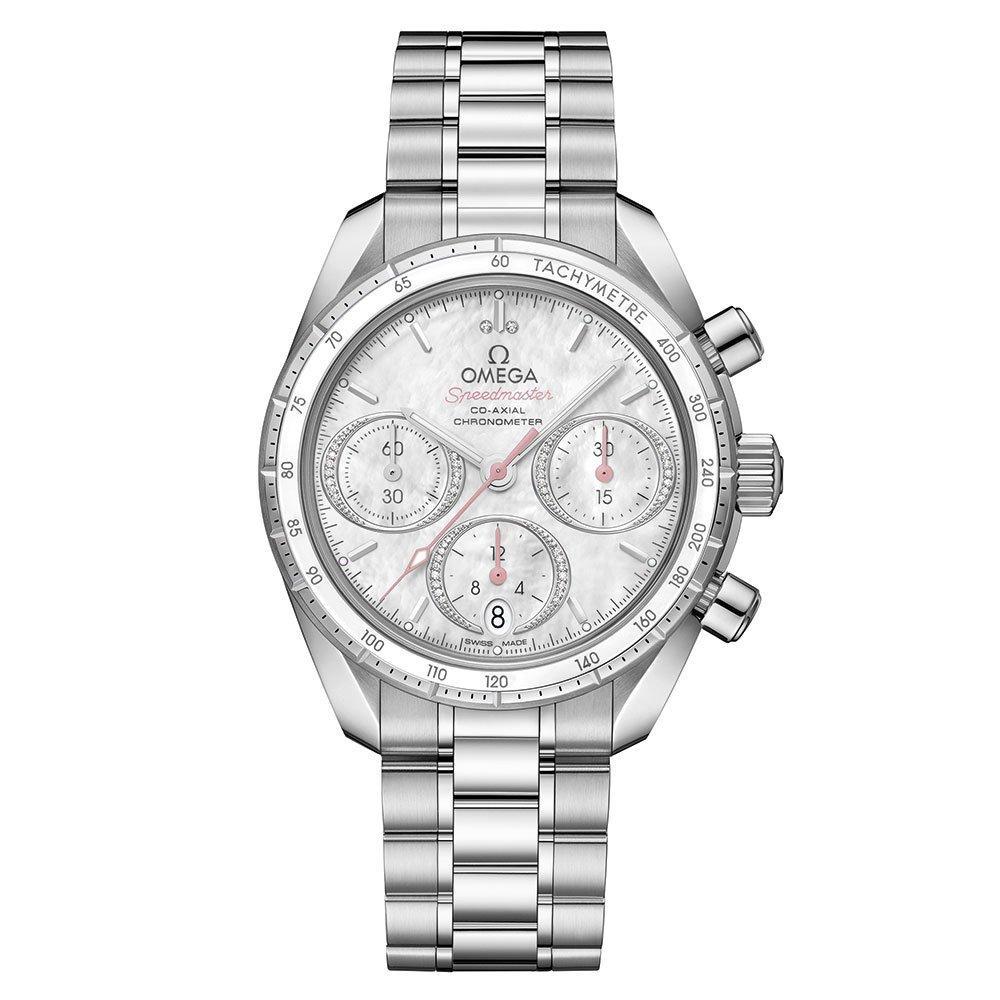 OMEGA Speedmaster Automatic Chronograph Diamond Ladies Watch