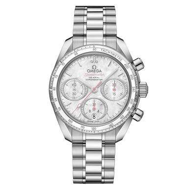 OMEGA Speedmaster 38 Co-Axial Automatic Chronograph Diamond Watch
