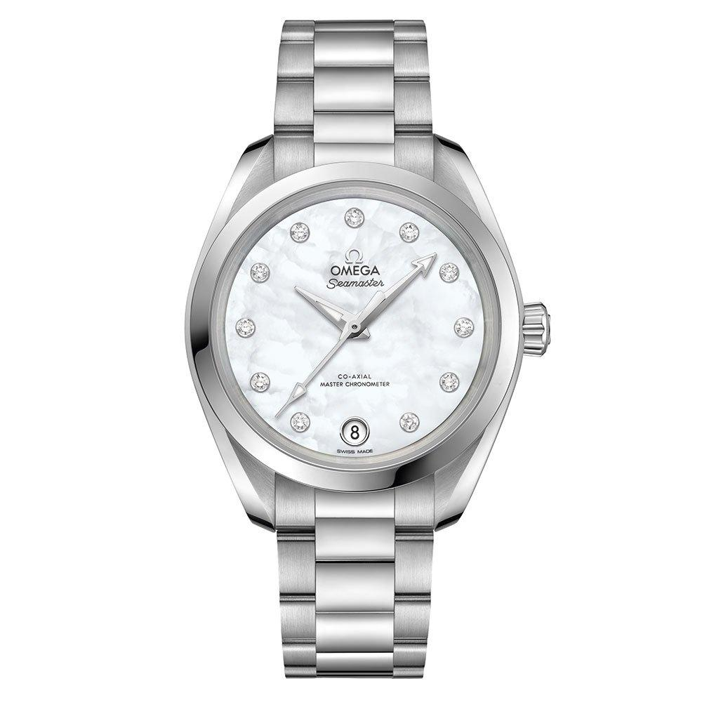 OMEGA Seamaster Diamond Automatic Ladies Watch