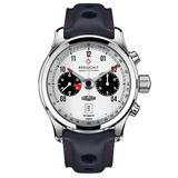 Bremont Jaguar MKII White Automatic Chronograph Men's Watch