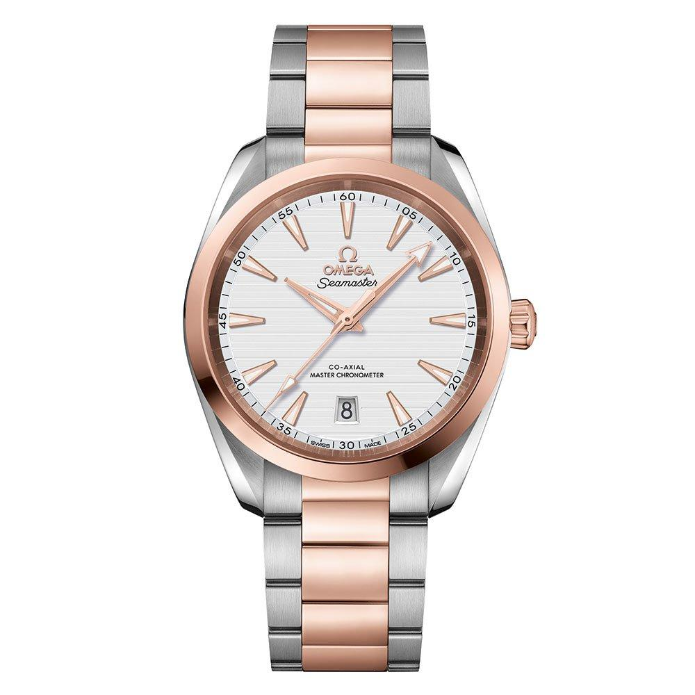 OMEGA Seamaster Aqua Terra Co-Axial Master Chronometer 18ct Rose Gold and Stainless Steel Men's Watch